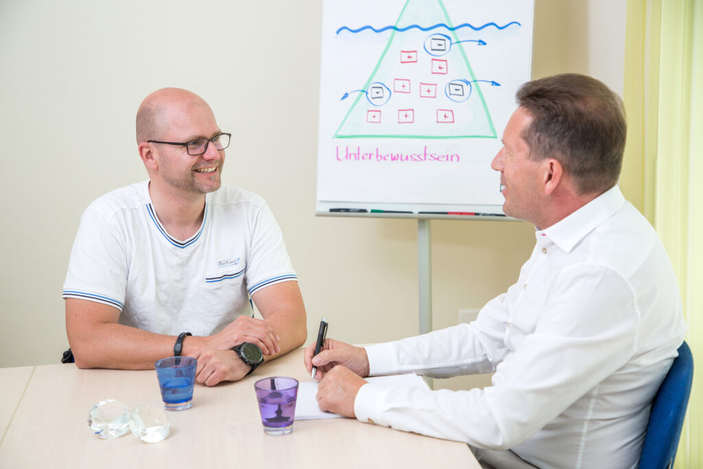 Markus Hardegger im Coaching-Gespräch