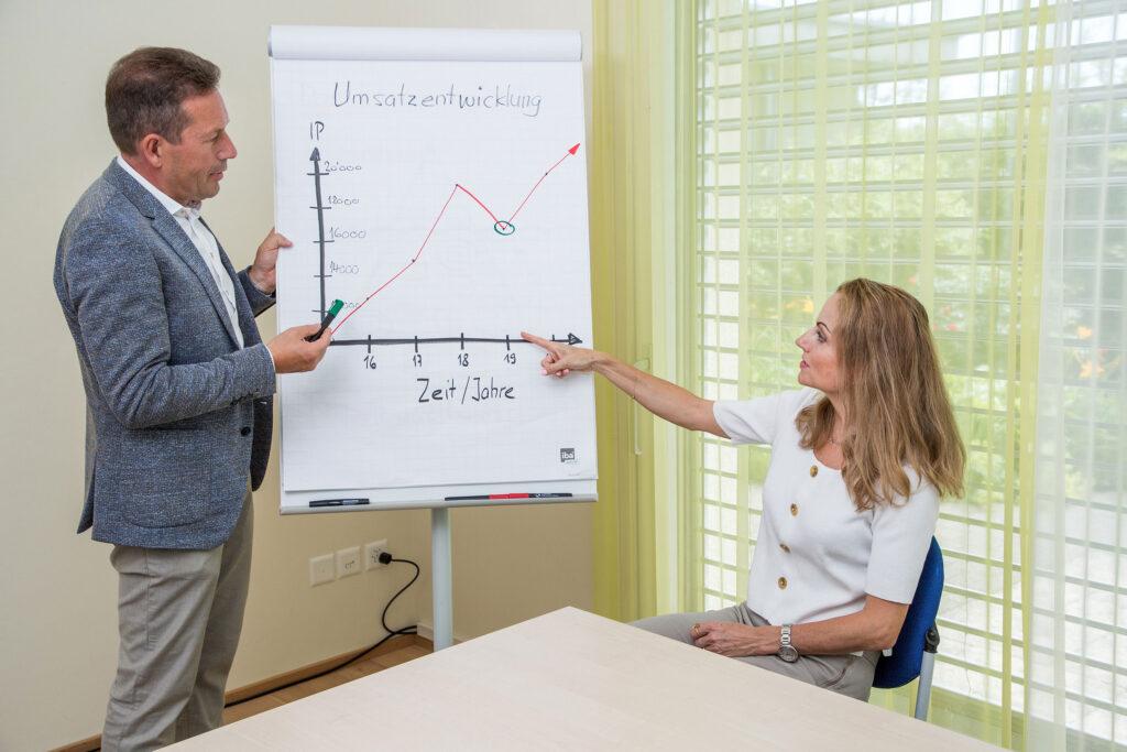 Markus Hardegger im Kundengespräch für Firmen